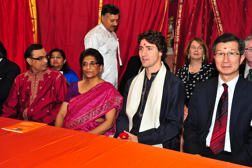 photo credit: Justin celebrates Diwali (Photo by Joe Pacione) via photopin (license)