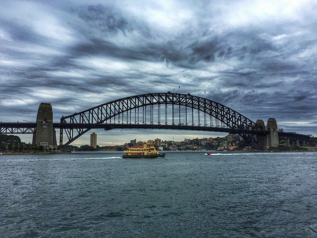 photo credit: Crossing Sydney Harbor - iPhone via photopin (license)